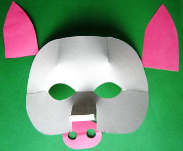 How to make a pig Mask