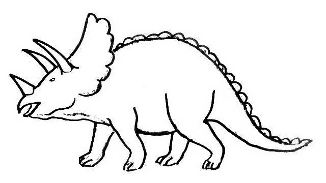 realistic dinosaurs head coloring pages - photo#28