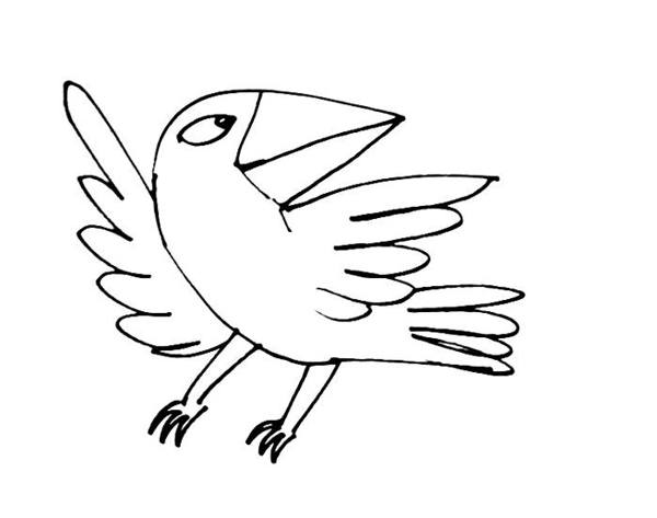 bird cartoon coloring pages - photo#24
