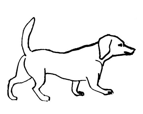 dachshund coloring page with dachshund coloring page