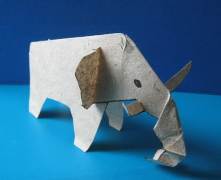 Paper Mammoth craft
