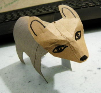 Paper Bear craft