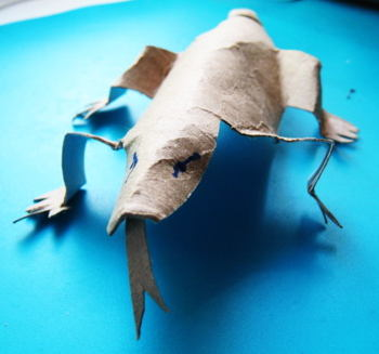 Paper Komodo Dragon