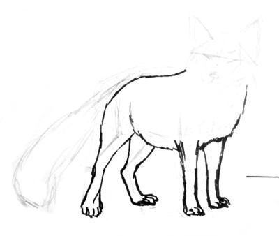How To Draw A Fox Baby