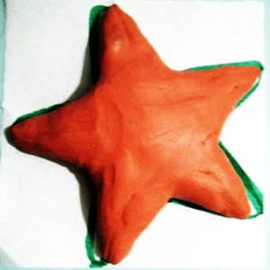 Modeling clay starfish