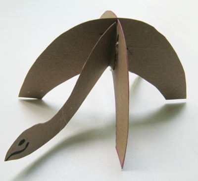 Paper  turtle   manufacturing