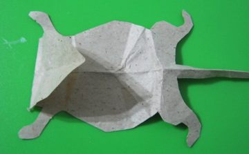Mouse of paper