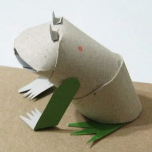 Toilet Paper RollDIY Craft- Frog