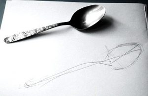 Spoon drawing lesson
