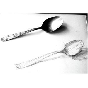 How todraw a spoon
